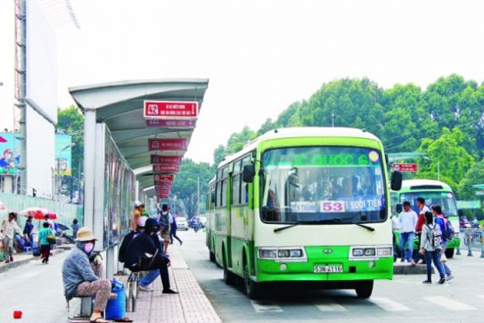 Ho Chi Minh City launches another airport-downtown bus service
